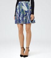 Reiss Nettle Knife-Pleat Mini Skirt