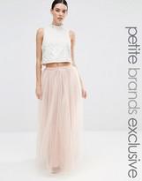 True Decadence Petite Tulle Maxi Skirt