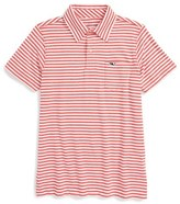 Vineyard Vines 'Feeder Stripe' Pima Cotton Polo (Toddler Boys, Little Boys & Big Boys)