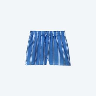 Summersalt The Effortless Shorts - French Stripe in Indigo