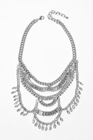 Dynamite Multi-Chain Statement Necklace