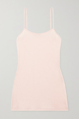 Hanro Ultralight Mercerized Cotton Camisole - Blush