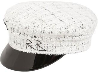 Ruslan Baginskiy Baker Boy Cotton Tweed Hat