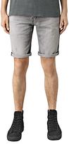 Allsaints Allsaints Barham Switch Denim Shorts, Grey
