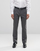 Sisley Slim Fit Suit Trousers In Prince Of Wales Check