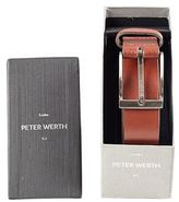 Burton Mens Peter Werth Brown Leather Belt*