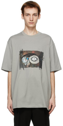 Song For The Mute Grey Oversized Monster T-Shirt