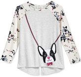 Jessica Simpson Dog Purse T-Shirt, Big Girls (7-16)