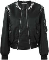 Givenchy crystal embellished bomber
