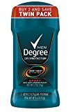 Degree Men Dry Protection Anti-Perspirant & Deodorant Solid, Sport, 2 Pack 5.40 oz (10 Pack)