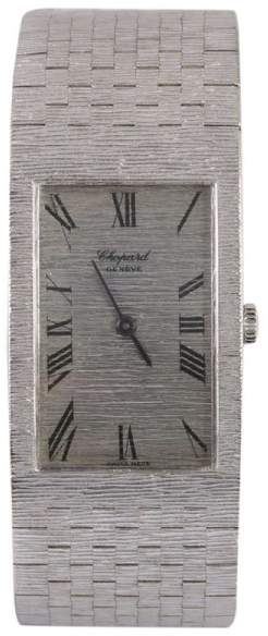 Chopard Super Rare 18K White Gold Manual Vintage Womens Watch