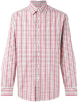 Brioni plaid shirt - men - Cotton - M