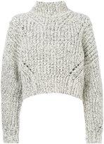 Isabel Marant chunky-knit sweater - women - Polyester/Wool/Alpaca - 34