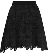Antonio Berardi Embroidered Cotton Skirt
