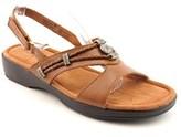 Minnetonka Silvie Slingback Women N/s Open-toe Leather Brown Slingback Sandal.
