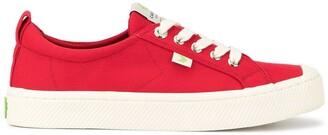 Cariuma OCA Low Red Canvas Sneaker