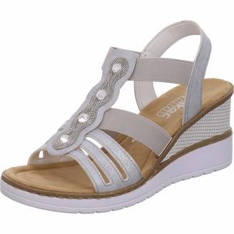 Rieker Women's Fruhjahr/Sommer V3572 Closed Toe Sandals