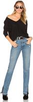 Bobi Cotton Slub 3/4 Sleeve Tunic