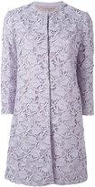 Giambattista Valli embroidered coat - women - Silk/Cotton/Nylon/Polyester - 46