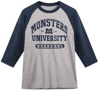 Disney Monsters University Baseball T-Shirt for Adults