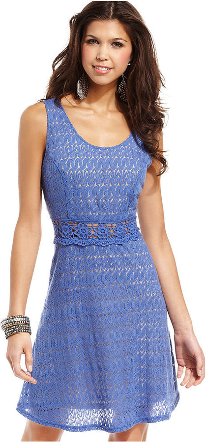 American Rag Dress, Sleeveless Lace A-Line