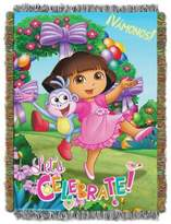 "Nickelodeon Dora the ExplorerTM ""Celebrate Dora"" Tapestry Throw"