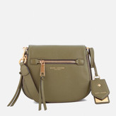 Marc Jacobs Women's Recruit Small Nomad Saddle Bag - Army Green