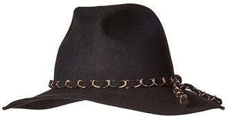 Eugenia Kim Genie by Virginia Fedora (Black) Traditional Hats