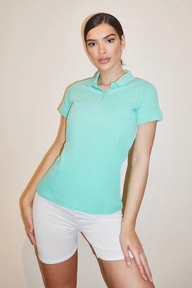 boohoo Basic Polo T-shirt