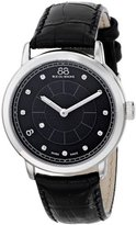 88 Rue du Rhone Women's 87WA120020 Analog Display Swiss Quartz Black Watch