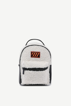 Ardene Faux Sherpa Backpack