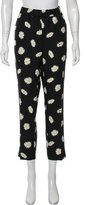Kate Spade High-Rise Floral Pants