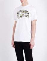 Billionaire Boys Club Camou logo-print cotton-jersey t-shirt