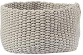 Baby Essentials Kneatly Knit Medium Khaki Rope Bin