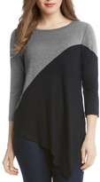 Karen Kane Color Block Tunic Top