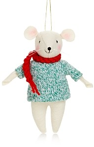 Bloomingdale's Fabric Mouse Tree Ornament - 100% Exclusive