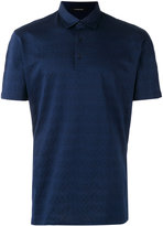 Ermenegildo Zegna knitted polo top