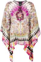Etro tassel detail tunic - women - Silk/Viscose/glass - One Size