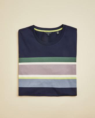 Ted Baker SLEEPTT Tall striped T-shirt