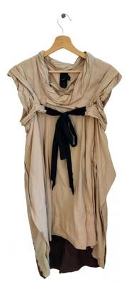 Bernhard Willhelm Beige Cotton Dress for Women
