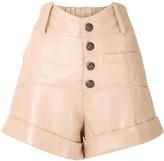 Andrea Bogosian Riley leather shorts