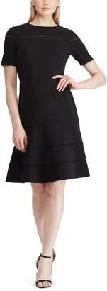 Lauren Ralph Lauren Short-Sleeved Skater Dress