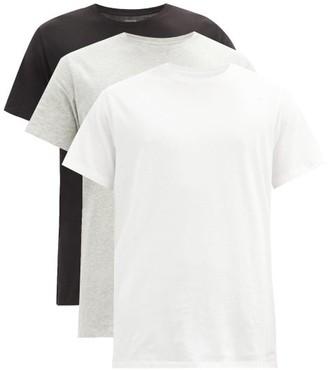 Calvin Klein Underwear Pack Of Three Cotton-jersey T-shirts - Multi