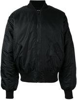 Hood by Air satin bomber jacket
