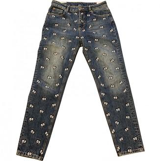 Zoe Karssen Blue Cotton Jeans for Women