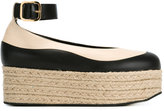 Marni 'Vitello' platform espadrilles - women - Leather/rubber - 35