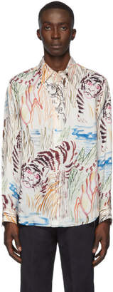 3.1 Phillip Lim White Tiger Souvenir Shirt