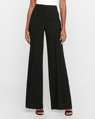 Express High Waisted Seamed Wide Leg Pant
