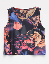 adidas OG Rose Print Girls Tank