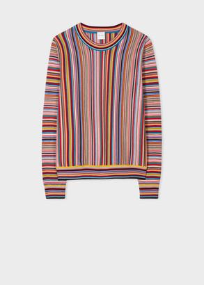 Paul Smith Women's 'Signature Stripe' Wool Sweater